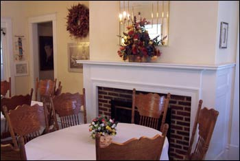dining room at the Gables Treatment Center